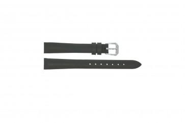 Horlogeband Universeel 241R.07 Leder Grijs 14mm