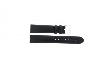 Horlogeband Condor 241R.01 / 188R.01 Leder Zwart 12mm