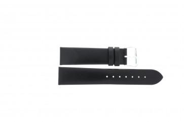 Horlogeband Condor 241R.01 Leder Zwart 20mm