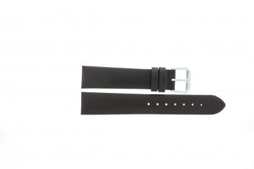 Horlogeband Condor 241R.02 Leder Bruin 18mm