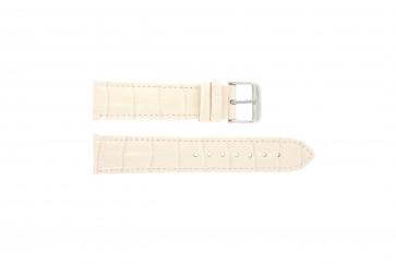 Horlogeband Universeel 285.15 Leder Roze 20mm
