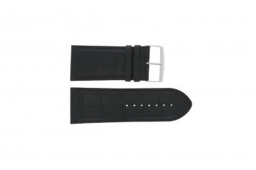 Horlogeband Universeel 305R.01 Leder Zwart 32mm