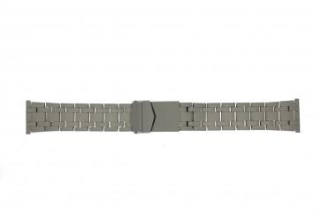 Horlogeband 5050 Titanium Staal / RVS 22mm