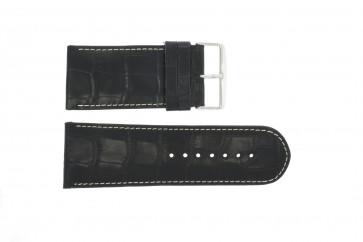 Horlogeband Universeel 61324-36B Leder Blauw 36mm