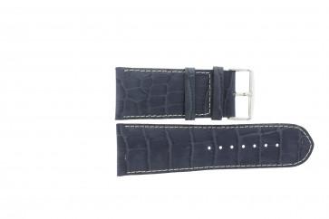 Bracelet de montre Universel 61324B.50.32 Cuir Bleu 32mm