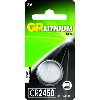 GP Knoopcel Batterij CR2450 - 3v