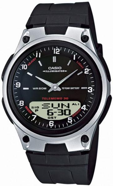 Horlogeband Casio AW-80 / AW82 Kunststof/Plastic Zwart 18mm