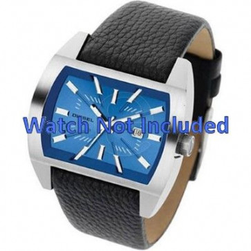 Horlogeband Diesel DZ1115 / DZ1116 Leder Zwart 29mm