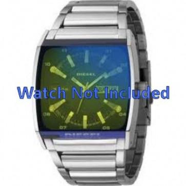 Diesel horlogeband DZ1251 Staal Zilver 34mm