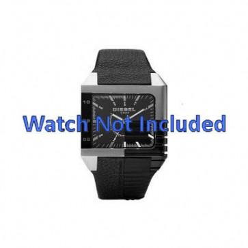 Horlogeband Diesel DZ1397 Leder Zwart 26mm