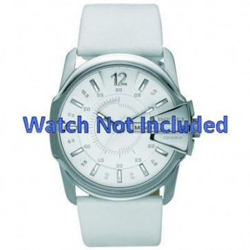 Horlogeband Diesel DZ1405 Leder Wit 28mm