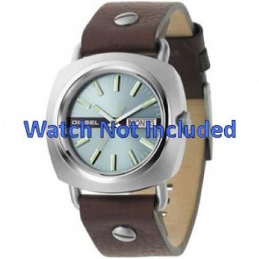 Horlogeband Diesel DZ2146 Leder Bruin 22mm