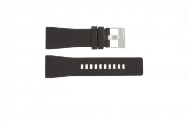 Horlogeband DZ1114 Leder Bruin 29mm