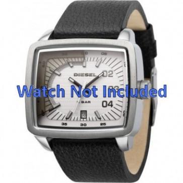 Horlogeband Diesel DZ1333 Leder Zwart 29mm