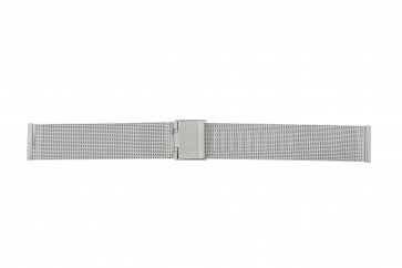 Horlogeband Universeel 14.1.5-ST-ST Mesh/Milanees Staal 14mm