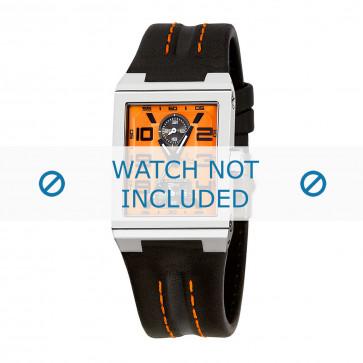 Horlogeband Festina F16224-4 Leder Zwart 14mm