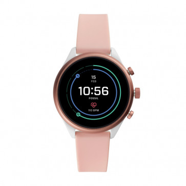Fossil FTW6022 Digital Smartwatch Dames Rosé