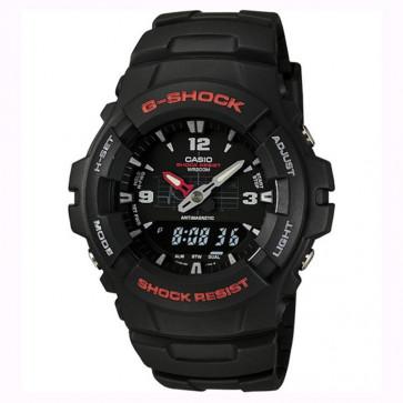 Casio horlogeband 10001449 Kunststof Zwart 16mm