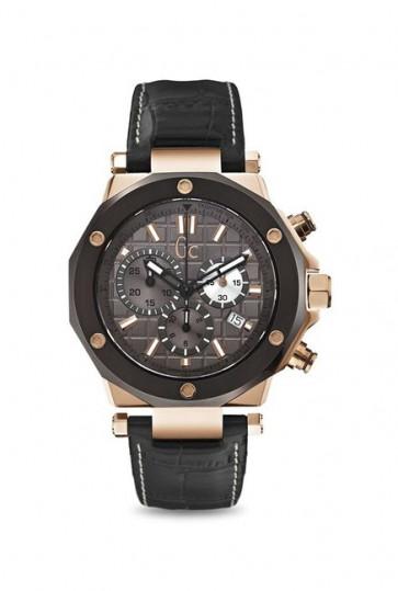 Horlogeband Guess GCX72024G5S Leder Zwart