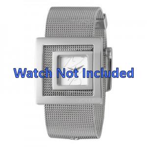 DKNY horlogeband NY-4302 Staal Zilver 24mm