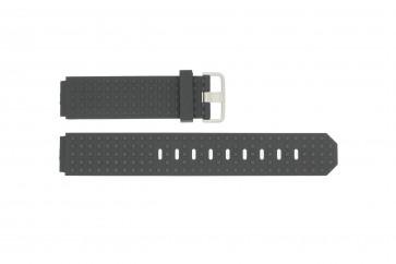 Horlogeband Jacob Jensen 400 / 420 Rubber Zwart 12mm