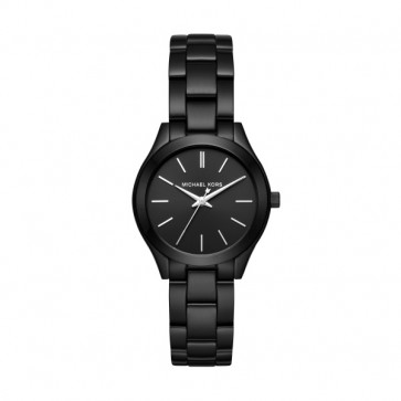 Horlogeband Michael Kors MK3587 Staal Zwart 16mm