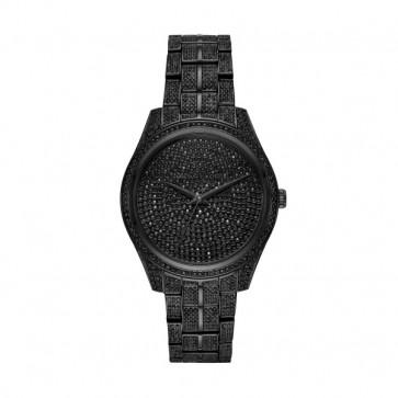 Horlogeband Michael Kors MK3980 Staal Zwart 18mm
