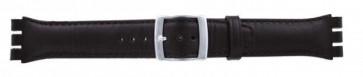 Horlogeband Swatch (alt.) 51643.03 Leder Bruin 19mm