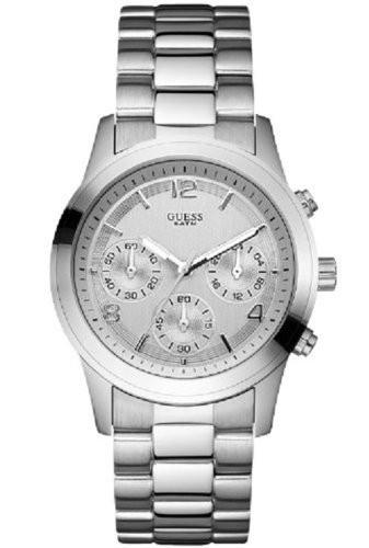 Guess horlogeband W12086L Staal Zilver 21mm