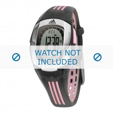 Adidas horlogeband ADP1638 Rubber Zwart