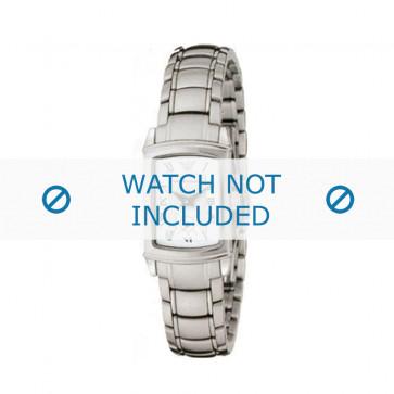 Armani horlogeband AR-0249 Staal Zilver 15mm