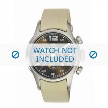 Breil horlogeband 2519774197 Leder Beige