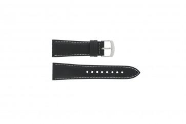 Casio horlogeband EF-509L-1AVF / 10273089 Silicoon Zwart 25mm
