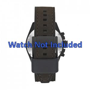 Fossil horlogeband CH2804 Leder Bruin 22mm + bruin stiksel