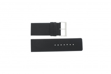 Davis horlogeband BB0330 Leder Zwart 30mm