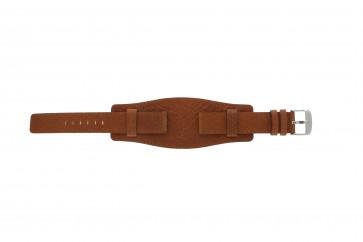 Davis horlogeband B0222 Leder Cognac 20mm