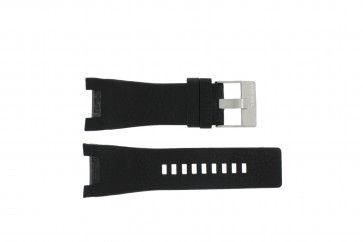 Diesel horlogeband DZ-1215 Leder Zwart 32mm