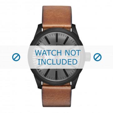 Horlogeband Diesel DZ1764 Leder Bruin 24mm