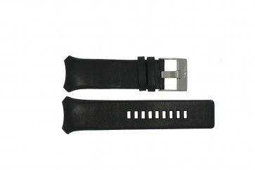 Horlogeband Diesel DZ3034 / DZ3035 Leder Zwart 32mm