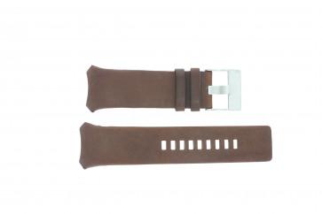 Diesel horlogeband DZ3037 Leder Bruin 32mm