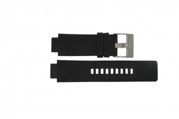 Horlogeband Diesel DZ4146 Leder Zwart 16mm