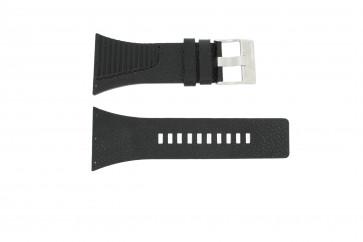 Horlogeband Diesel DZ7184 / DZ7180 Leder Zwart 25mm