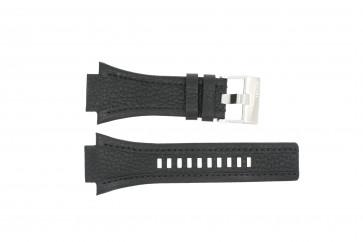Horlogeband Diesel DZ4172 Leder Zwart 22mm