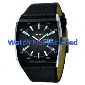 Horlogeband Diesel DZ1253 Leder Zwart 34mm
