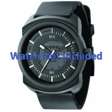 Horlogeband Diesel DZ1262 Rubber Zwart 26mm