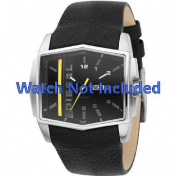 Horlogeband Diesel DZ1340 Leder Zwart 30mm