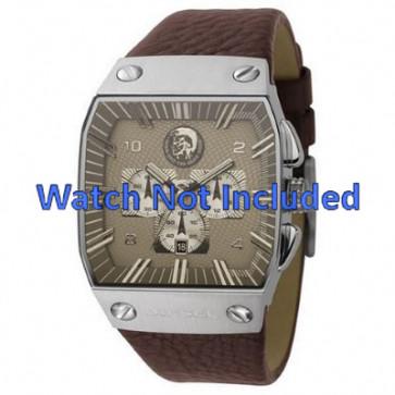 Horlogeband Diesel DZ9038 Leder Bruin 32mm