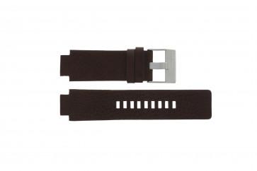 Horlogeband Diesel DZ1123 Leder Bruin 18mm