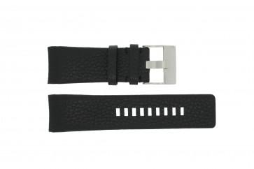 Diesel horlogeband DZ4031 / DZ4032 / DZ4028 Leder Zwart 29mm