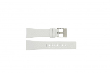 Horlogeband Diesel DZ5102 Leder Wit 23mm
